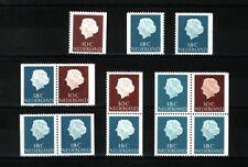Nederland Stockkaart Combinaties uit Postzegelboekjes 3 Postfris