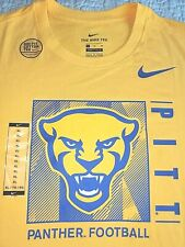 New by Nike, Men'S Xl, Pittburgh Panther Football, Team Issue T-Shirt, Msrp $30!