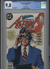ACTION COMICS #571 MT 9.8 CGC HIGHEST 1 OF 1 CANADIAN PRICE VARIANT BOLLAND COVE