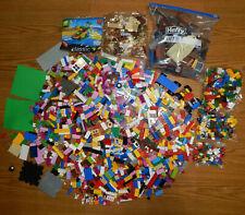 bulk lot - over 5 pounds of LEGOS & MEGABLOCKS variety of lego bricks & pieces