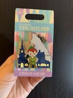 PETER PAN & Matterhorn Yeti- It's a Small Fantasyland Disneyland Pin LE 1750