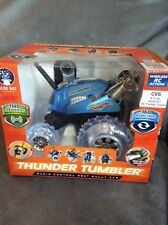 THUNDER TUMBLER BLUE RADIO CONTROL 360 RALLY CAR FOR AGES 6+ - NEW IN BOX