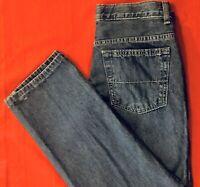 URBAN  PIPELINE ... Adjustable  100% Cotton Denim Blue Jeans ... Husky Size 10 H