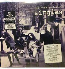 SINGLES Soundtrack 2XLP WHITE/BLUE Marbled Vinyl + CD Newbury Sealed OOP Cornell