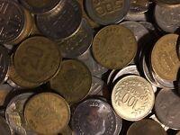 100 Gramm Restmünzen/Umlaufmünzen Kolumbien