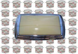 1939-1949 Cadillac & LaSalle Dome Light Lamp Lens & Chrome Bezel