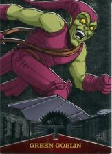 Spiderman Fleer Ultra 2017 Marvel Metal Chase Card MM20 Green Goblin
