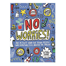 Katie Abey No Worries Mindful Kids An activity book for young people PB NEW