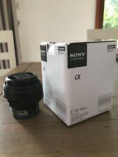 Sony Alpha SEL SEL1018 10-18mm E- Mount Lens