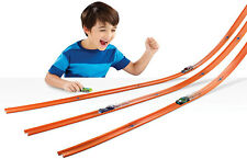 40ft Hot Wheels Kids Car Toy Stunt Track and Builder Pack w/ Racing Play Set