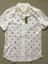 NWT J Crew Collection beaded shirt Short Sleeve Size 2 White $198 84393 Sold Out