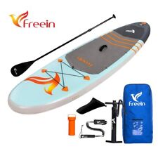 "Freein isup Inflatable SUP Aqua Stand Up Paddle Board, 10' x 33"" x 6"", Full Kit"