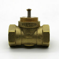 Brass two-way valve DN20 Electric Thermal Actuator valve