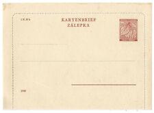 Böhmen und Mähren, Ganzsache/ Kartenbrief K 2, 1940 ungebraucht