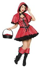 2Pc Red Riding Hood M/L 10-12  Fancy Dress Party Hen Night Christmas Fairy Tale