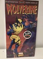Polar Lights Wolverine Plastic Model Kit Marvel Comics New Sealed (8) Comic Book