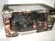 Rare Forces of Valor 81018 US 6x6 1.5 Ton Cargo Truck & Crew, 1945 , 1:32 Scale.
