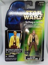 Star Wars Kenner POTF LUKE SKYWALKER CEREMONIAL OUTFIT - Green 1996