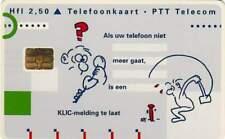 Telefoonkaart / Phonecard Nederland CKD106 ongebruikt - KLIC