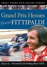 GRAND PRIX HEROES DVD. EMERSON FITTIPALDI WORLD CHAMP 72/74. 52 Min. DUKE 2711NV