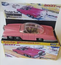 FREE POST Dinky 100 Lady Penelope's FAB 1 with Original bullet and harpoons