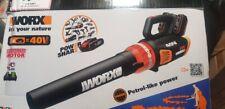 WORX WG584E 36V (40V MAX) Dual Battery Brushless Leaf Blower - 2*2.0Ah battery