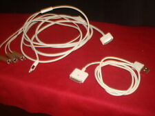Apple Composite AV & USB Cable/Cord iPhone iPad 30-pin to TV MC748ZM/A +BONUS