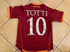 Maglia Rara Vintage Diadora as roma Totti Autografata Trikot Football Shirt