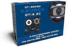Crunch GTi6.2C B-Ware Lautsprecher Auto Boxen KFZ 2wege Komponentensystem