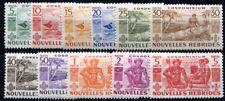 NOUVELLES HEBRIDES 1953 Yvert 144-154 ** POSTFRISCH TADELLOS SATZ (F3834