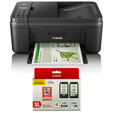 Canon PIXMA MX492 Wireless Office All-in-One Inkjet Printer Ink & Paper Bundle