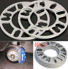 Aluminum Alloy 5mm 4Pcs Auto Car Wheel Tire Spacers Adaptor Shims Plate 4/5 Stud