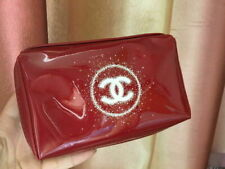 Vip Glossy Burgundy Cosmetic Make Up Pouch Bag from CC beauty