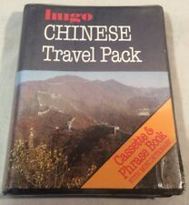 """Collectable Vintage/Retro """"Chinese Travel Pack"""" Cassette & Book, Hugo *Sealed*"""
