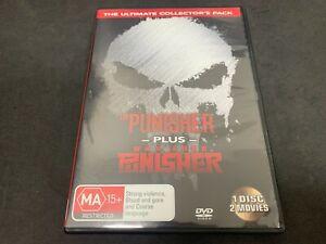 The Punisher + Punisher: War Zone (John Travolta) (2004) (MA15+, DVD R4)