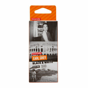 LOMOGRAPHY EARL GREY ISO 100 BLACK & WHITE FILM - 3 PACK
