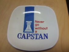 Never Go Without a Capstan – ceramic advertising Ashtray c 1960s