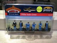 Bachmann Scenecraft 36-407 1950s Train Crew OO scale
