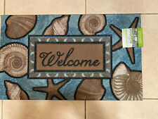 Welcome Floormat - Recycled Rubber - Mohawk Greenworks - 18 In x 30 In