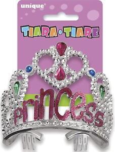 TIARA Birthday Party Princess Girls Glitz Guest of Honor Crown Favors