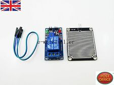 DC12V Rain sensor module + Relay Control Module for Arduino robot kit
