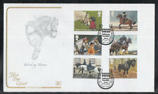 GB Great Britain FDC 2014 - Working Horses