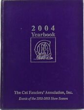 The Cat Fanciers' Association 2004 Yearbook Color Photos Hardcover Book