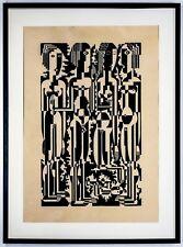 Ewald Dülberg, 1924 Eros Holzschnitt. Sheet 88 X 63 CM, Extreme Rarely, Teuer