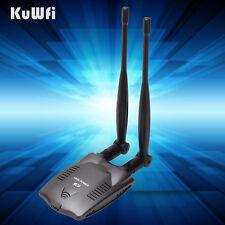 High Power USB Wireless Adapter&Network Card With 2*7dBi Antenna For Desktop
