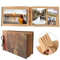 DIY Vintage Photo Album Scrapbook Our Adventure Book Memory Anniversary gift UK
