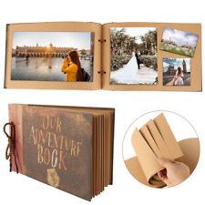 DIY Vintage Photo Album Scrapbook Our Adventure Book Memory Anniversary gift UK