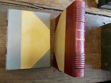 lot de 2 livres de l'herminier : casablanca - Entre ciel et mer - reliés