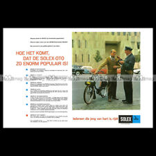 #phpb.000508 Photo VELOSOLEX SOLEX-OTO Advert Reprint