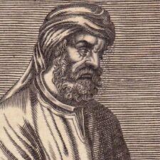 Portrait XVIIe Tertullien Quintus Septimius Florens Tertullianus Théologien